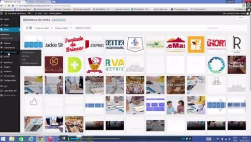 5 treinamento wordpress criação e edição de portfolio itens