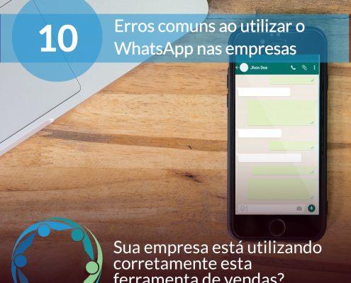 10 erros mais comuns whasapp